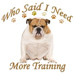 Copy of English Bulldog Needs Training
