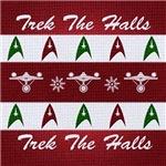 Trek the Halls Christmas Sweater