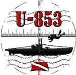 U-853 Scuba Wreck Dive Original