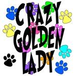 Crazy Golden Lady