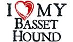 I Heart My Basset Hound