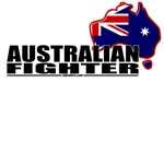 Australian Fighter Shirts - Aussie flag