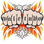 Vale Tudo shirts: Two fists and flames