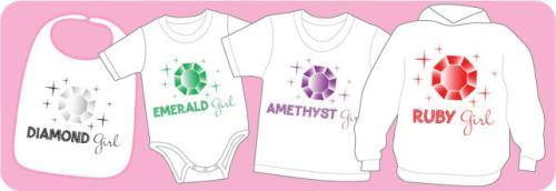 Birthstone Girl Shirts