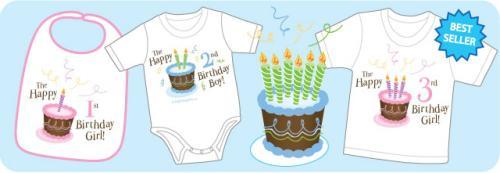 Cake & Candles Birthday Shirts