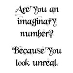 Are you an imaginary number?