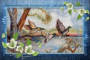 olio su tela dipinti original