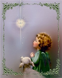 Star of Bethlehem Angel Greeting Cards