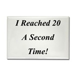 Reached 20 A Second Time