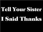 Sister Thanks
