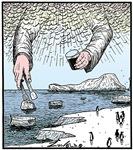 God's ice cubes