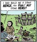 Stone Hens