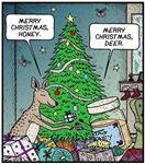 Merry Christmas Honey Deer