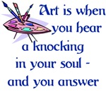 Art Is A Knocking