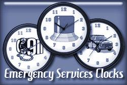 Emergency Occupations Wall Clocks