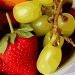Strawberries & Grapes