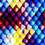 Abstract Colors Red Blue Yellow Purple