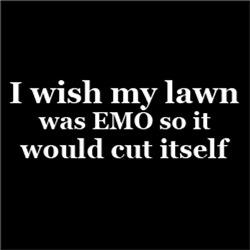 Wish My Lawn was EMO