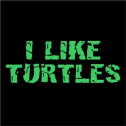 I Like Turtles FUNNY College