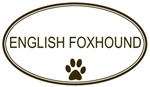Oval <strong>English</strong> <strong>Foxhound</strong>