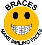 Braces Make Smiling Faces