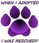 Adopted/Rescue-purple