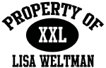 Property of Lisa Weltman