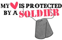 My Heart Is Protected By A Soldier