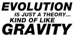 Evolution is Just a Theory...Kind of Like Gravity