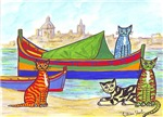 Cats and Boats in Malta