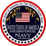 Navy Family T-Shirts for Kids