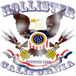 Hollister CA Eagle 1868 Faded