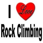 I Love Rock Climbing