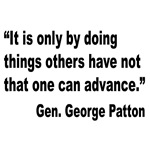Patton Doing Things Quote
