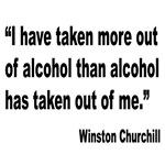 Churchill Alcohol Quote