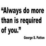 Patton Do More Quote