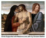 Christ Supported with Madonna and John