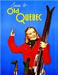 Quebec Travel Poster 1