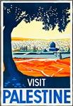 Palestine Travel Poster 1