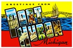 Port Huron Michigan Greetings