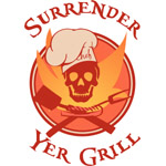 Surrender Yer Grill Red