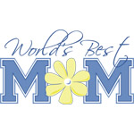Best Mom Blue