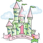 Castle Birthday Princess 1st