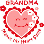 Heart Smile Grandma
