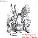 Lewis Carroll & Looking Glass Quote