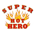 SUPER HOT HERO - MEN'S T-SHIRTS