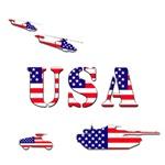 USA Patriotic Army T-Shirts