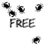 CRABS,SORRY CRABS FREE SEX TEES
