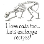 I love cats, lets exchange recipes!