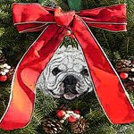 English Bulldog Christmas idea